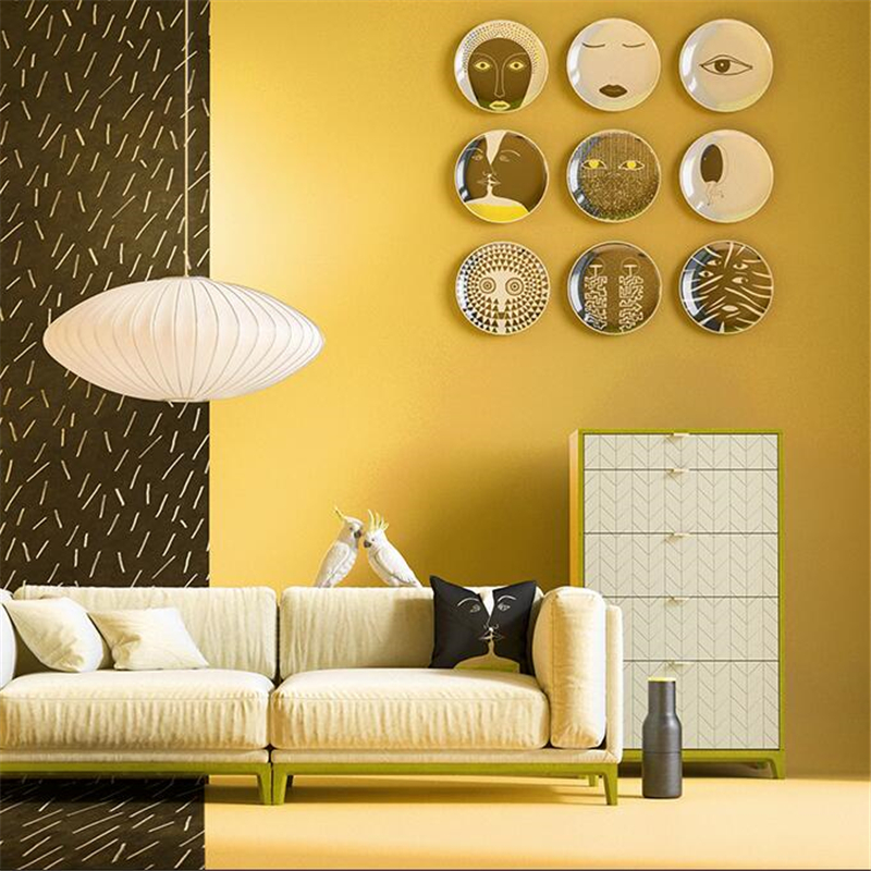 Nordic style pure pigment color white yellow wallpaper living room bedroom tea shop modern minimalist clothing store wallpaperNordic style pure pigment color white yellow wallpaper living room bedroom tea shop modern minimalist clothing store wallpaper