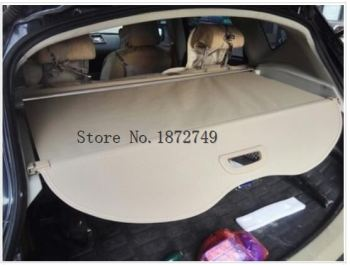 Car Rear Trunk Security Shield Cargo Cover For Nissan Qashaqi 2012 2013 2014 2015 Black Beige Auto Accessories