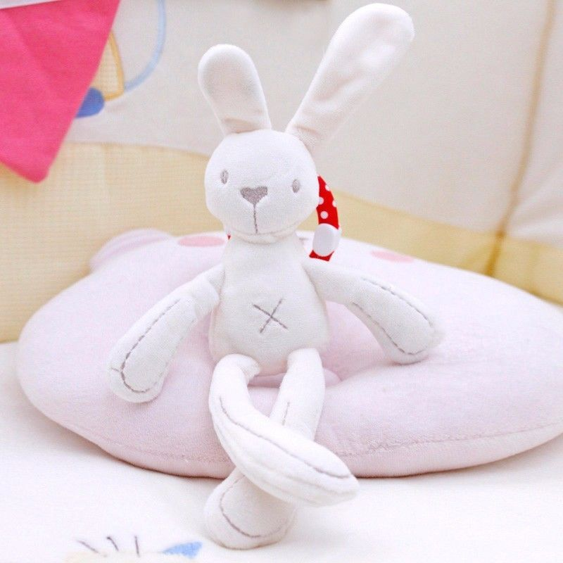 Cradle Toy Hanging Rattle Baby Plush Soft Rabbit Mobile toys Products Lovely Doll for baby