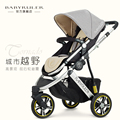 Babyruler baby stroller baby car portable two-way tricycle child cart shock absorbers
