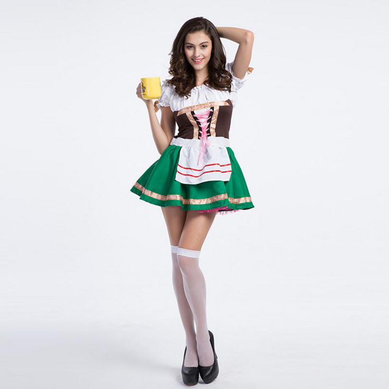 Buy Erotic Lingerie Fashion Maid Cosplay Suit Role-playing Halloween Dance Performance Clothing Halloween Lingerie Costumes