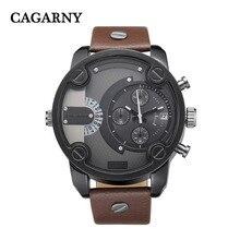 2016 Vente De Mode Hommes Bracelet En Cuir Montres montres hommes marque de luxe Militaire Sport Quartz Montre Homme Horloge