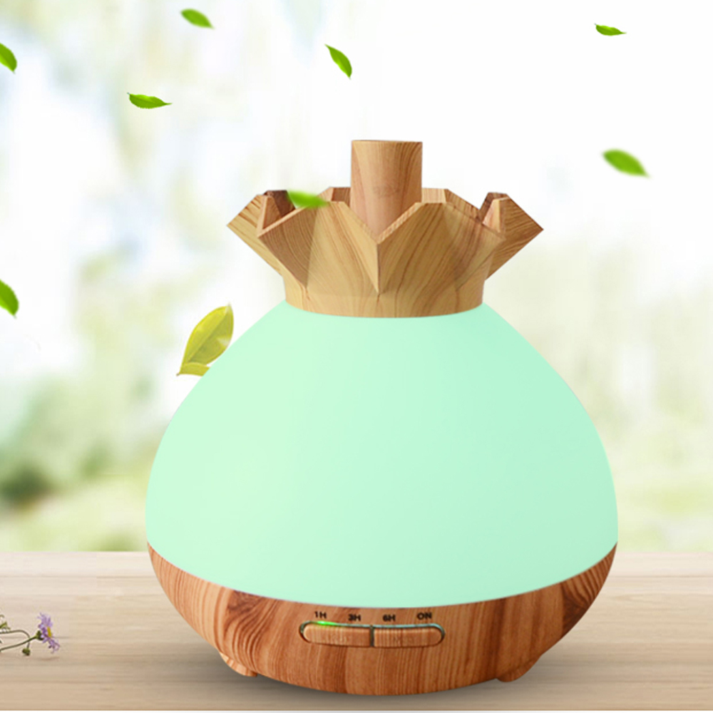 Aromatherapy Essential Oil Diffuser Auto Shut Off Ultrasonic Air Humidifier With LED Light  Electric Mist Maker for Home 400ML Aromatherapy Essential Oil Diffuser Auto Shut Off Ultrasonic Air Humidifier With LED Light  Electric Mist Maker for Home 400ML