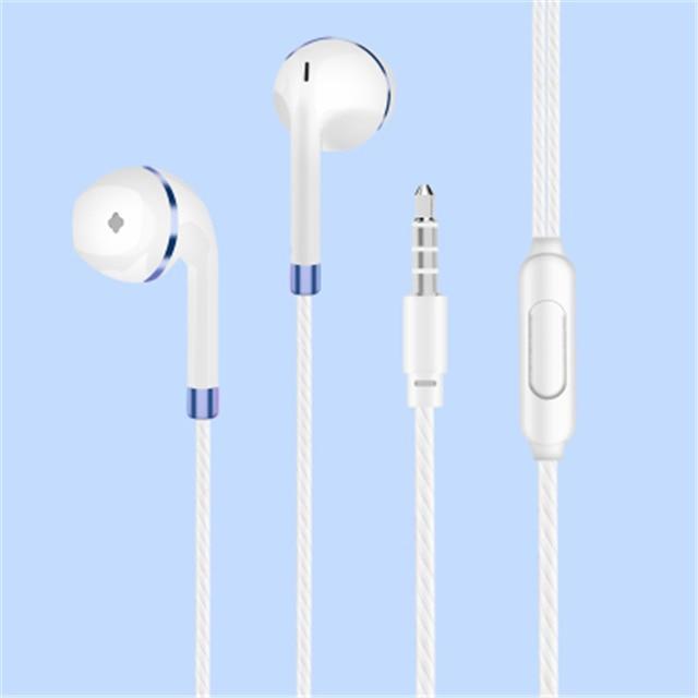 M&J In-Ear Earphone For iPhone 6s 6 5 Xiaomi Hands free Headset Bass Earbuds Stereo Headphone For Apple Earpod Samsung earpiece