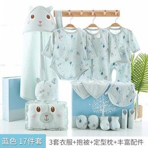 Image 2 - 17 teile/satz Neugeborenen Baby Kleidung Set 0 3M Baby Kleidung Günstige Baby Junge/Mädchen Kleidung 100% Baumwolle hohe qualität Cartoon Kinder Tragen