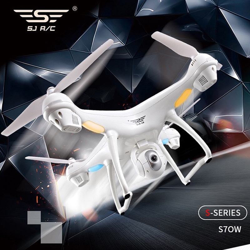 S70W GPS FPV RC Drone with 1080P HD Adjustable Wide-Angle Camera WiFi Live Video Follow Me GPS Return Home RC Quadcopter Dron 1