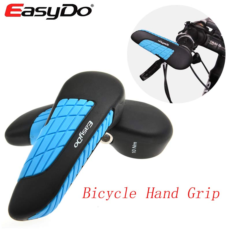 New EASYDO Bicycle Handle Grip Non-Slip Mountain Bike Barend Handbar Grip MTB Casing Holder Ultralight Ergonomics Bicycle Parts