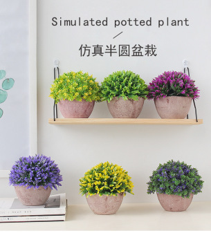 Plastic Bonsai Pots | Creative Simulation Plant Potted Home Table Coffee Table Artificial Flower Decoration Wedding Decoration Bonsa