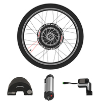 New Version 24V 350W Wheel Motor for Bike Imortor All In One Electric Drive for Bicycles E Bike Conversion Kit with 2 Battery