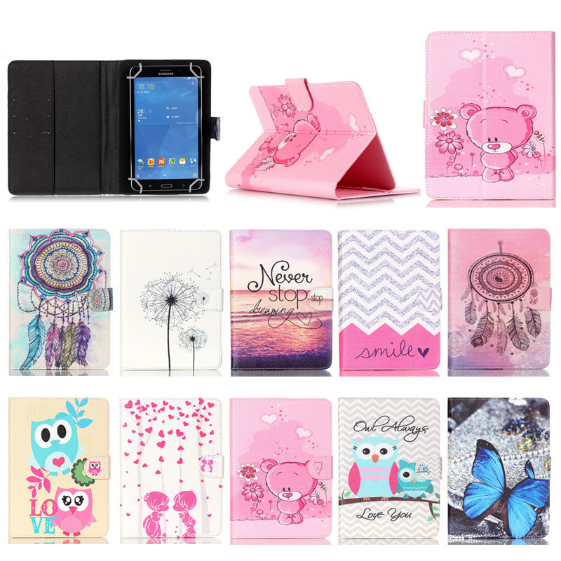 For Amazon Kindle Fire HD 7 Printed PU Leather case cover For Asus Memo Pad 7 ME176 Universal Tablet cases 7.0 inch Y4D69D 7 pu leather magnetic cover case for trekstor surftab ventos 7 0 hd 7 0 8g 7 0 hd 8g 7 inch universal tablet cases s2c43d