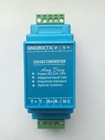 Acve фотоэлектрический isolaon RS422 конвертер RS232 скорость передачи adapve isolaon power rail installaon