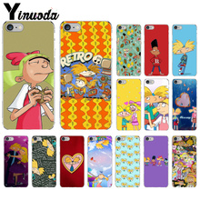 Yinuoda Hey Arnold Smart Cover Black Soft Shell Phone Case for Apple iPhone 8 7 6 6S Plus X XS MAX 5 5S SE XR Cover yinuoda animals dogs dachshund soft tpu phone case for apple iphone 8 7 6 6s plus x xs max 5 5s se xr mobile cover