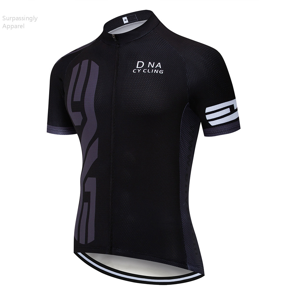 2019 Uci Team Cycling Jersey Black Ropa Ciclismo Mtb Mens Summer Quick-dry Pro Bike Wear Mtb Jersey Maillot Tops Shirts Summer