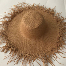 ZJBECHAHMU Casual Solid Vintage Straw Sun Hats For Women Summer Caps Outdoor holiday shade beach folding straw hat  New fedoras