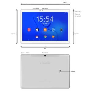 Image 5 - 10.1 אינץ 2560*1600 Teclast T20 Tablet PC 4G שיחת טלפון MT6797 Helio X27 Deca Core אנדרואיד 7.0 4GB RAM 64GB ROM 8100mah 13MP