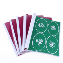 wholesale New Arrived 3 BOOKS Temporary Airbrush Tattoo Stencil Template New Booklet total 24 books(2223 Designs) can be choose