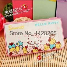 Hello Kitty Calcultor Cute Folding Solar Calculating Office Electronic Computer Calculadoras School Stationery Supplies As Gift