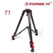 IFOOTAGE Wild Bull T1 Aluminum Legs Skilled Tripod for Video Digital camera 60kg max load capability