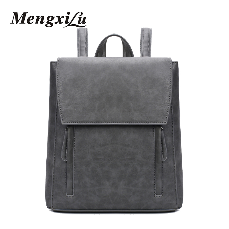 High Quality Women Backpacks Fashion Pu Leather Shoulder Bags Vintage School Bags For Teenage Girls Casual Travel Bags Laptop yc folding mini rc drone fpv wifi 500w hd camera remote control kids toys quadcopter helicopter aircraft toy kid air plane gift