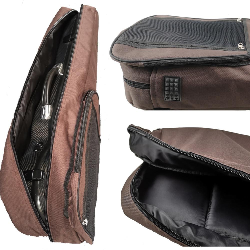 Violin Carbon Fibber Case Use Bag WJL04