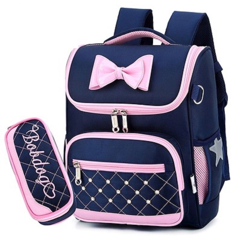 Edison School Bag Cute Girl Kids Backpack Large Capacity Bags Waterproof Lightweight School Backpack