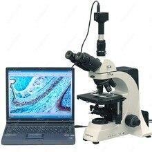 Laboratory Biological Microscope-AmScope Supplies 40X-2500X Professional Laboratory Biological Microscope + 3MP Camera