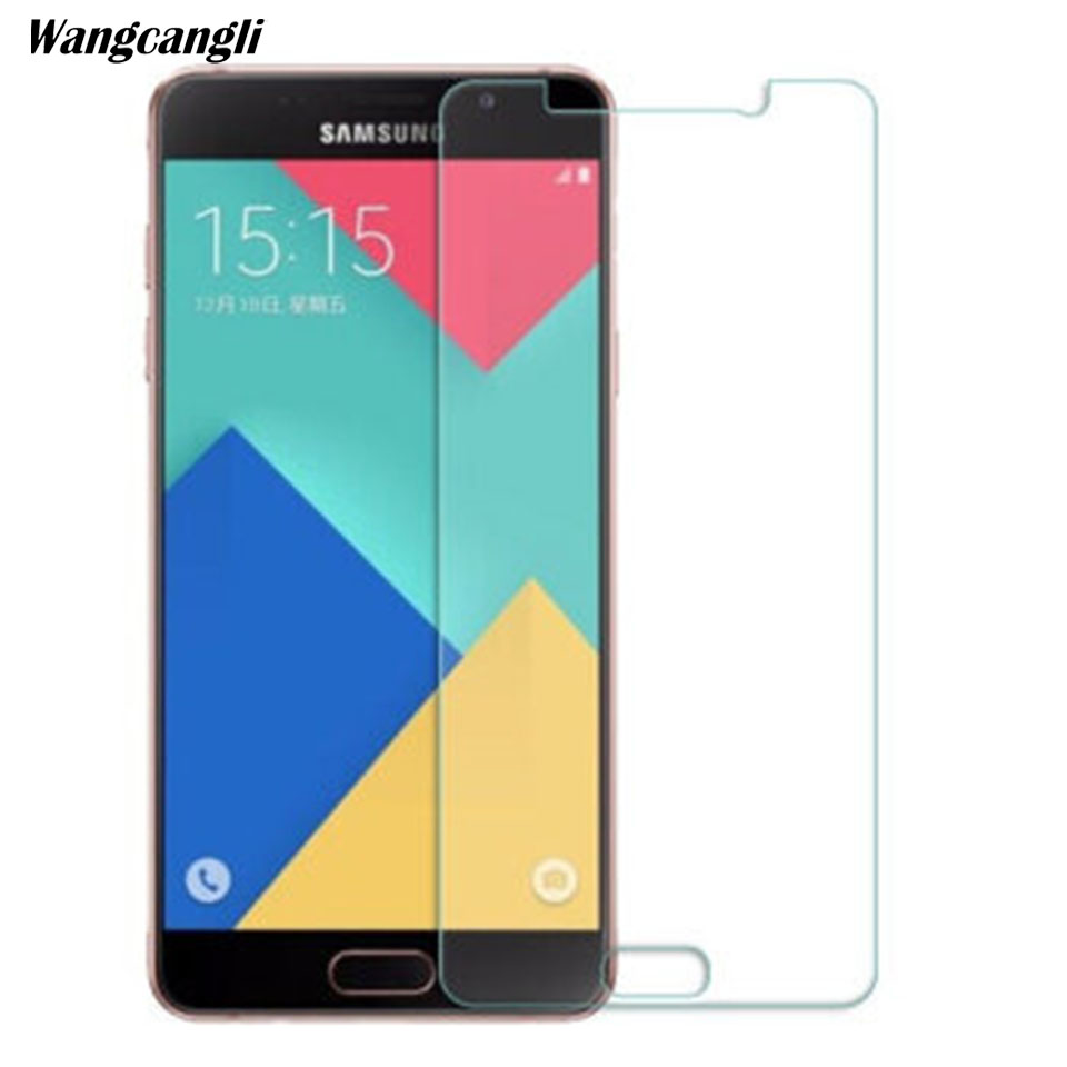 Image 4 - 10PCS Tempered Glass For Samsung Galaxy A3 A5 A6 A7 A8 2016 2017 2018 Screen Protector 0.28mm 9H Protective Film Case Glass-in Phone Screen Protectors from Cellphones & Telecommunications