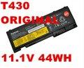 Batería original DEL ORDENADOR PORTÁTIL 11.1 V 44WH PARA Lenovo ThinkPad T430 T530 W530 L430 L530 45N1000 45N1001 45N1004 45N1005