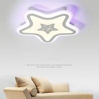 Светодиодный звезды Детская комната освещение ребенок потолочный светильник ребенка потолок лампы и для мальчиков и девочек спальня лампы