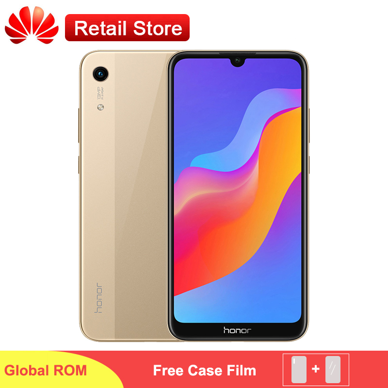 Global ROM Honor 8A Smartphone 6 09 Fullview MT6765 Octa Core Android 9 0 13MP 8MP
