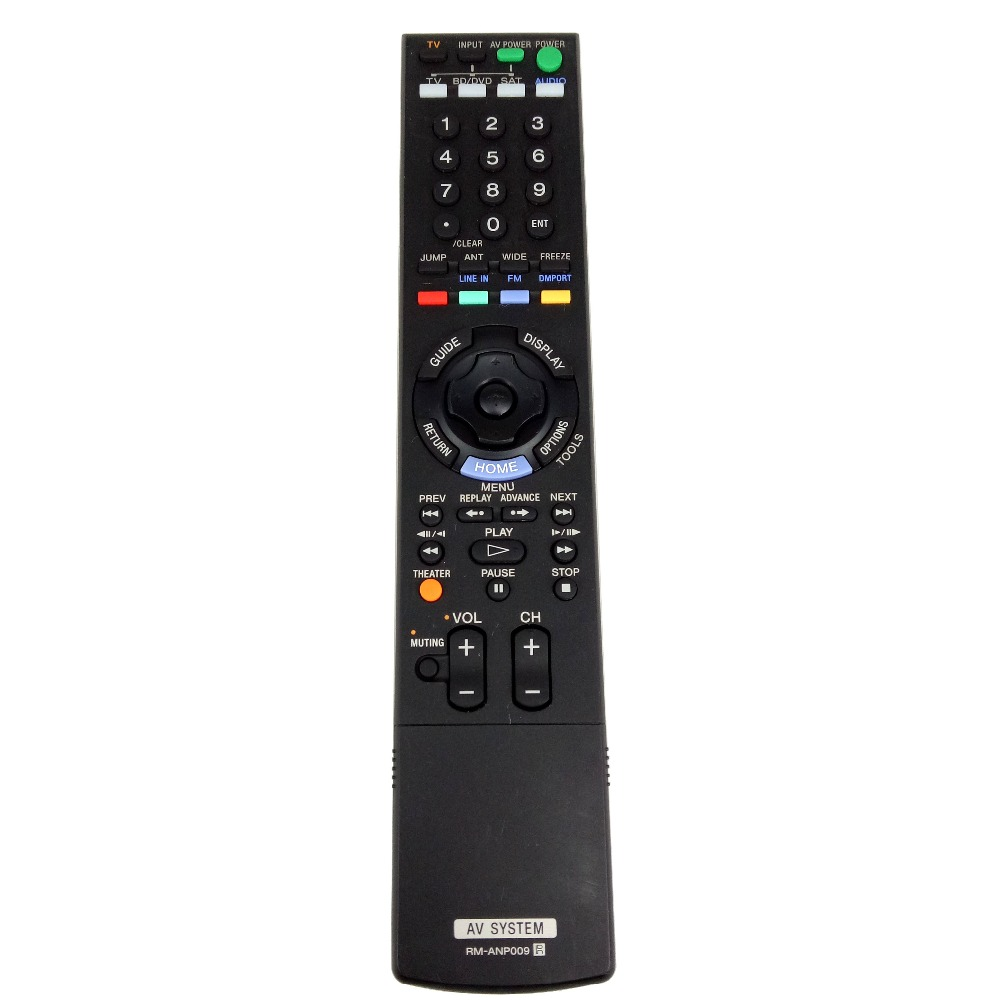 Used Original Replacement For Sony HOME THEATER remote control RM-ANP009 Audio/Video Receiver Remote Control for RHT-S10 RHTS10 домашний кинотеатр sony rht g10 black