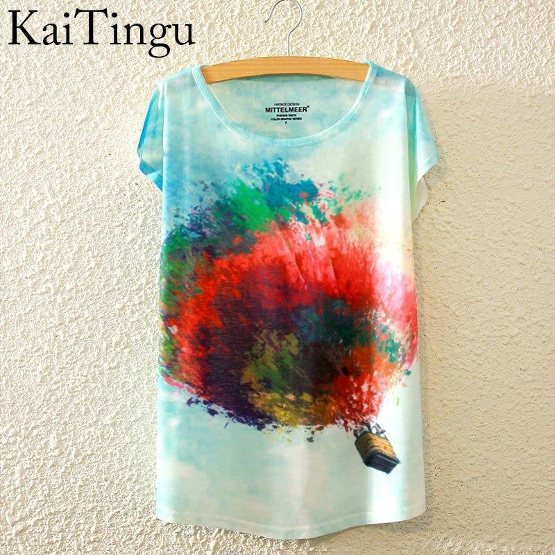 HTB1ykFwLpXXXXccaXXXq6xXFXXXG - New Fashion Summer Animal Cat Print Shirt O-Neck Short Sleeve T Shirt