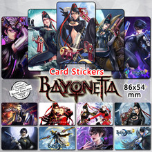 35pcs Bayonetta Character Stickers Classic Video Game Heroine Sexy Umbra Witch Bayonetta Jeanne Sticker Fans Collection Gifts(China)