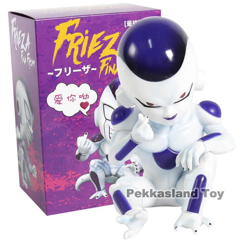 Freeza Dragon Ball Z DBZ Frieza Figura Estátua Final De Edição Dedo Coração Bonito Comic Anime Jogo Super Saiyan Boneca brinquedo