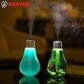 USB Ультразвуковой Увлажнитель Для Дома и Офиса Мини Аромат Диффузор СВЕТОДИОДНЫЙ Ночник Ароматерапия Mist Чайник Творческий Бутылка лампы
