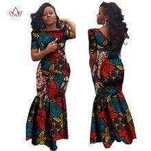 Bodycon Plus Size african dresses for women Lace dresses Brand Custom Clothing  Africa Wax Dashiki Slim Cut Sexy Dress BRW WY694 f3d3ad9b7dec
