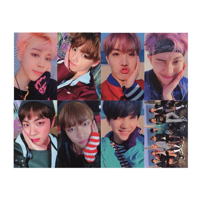 BTS YOU NEVER WALK ALONE SIGNED PHOTO CARD