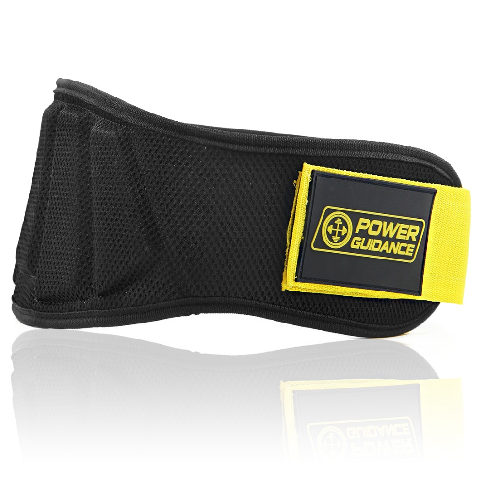 Nylon Gewichtheben Gürtel Lenden Taille Unterstützung Fitness Sport Gym Trainer Protector Gürtel Barbell Hantel Training Zurück Unterstützung Erfrischung Taille Unterstützung