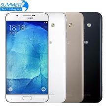 """Débloqué Original Samsung Galaxy A8 A8000 4G LTE Mobile Téléphone Octa Core 16.0MP Caméra 5.7 """"2G RAM 16G ROM Smartphone"""