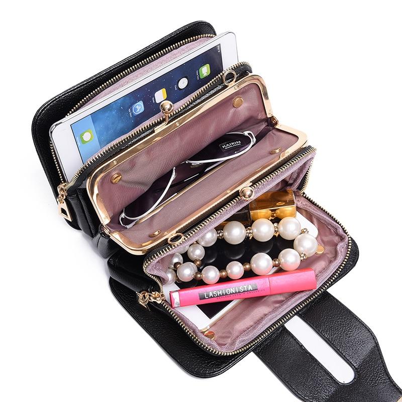 New Women Messenger Bags Small Female Shoulder Crossbody Bags High Quality Luxury Handbags Women Chain Bag Designer sac a main