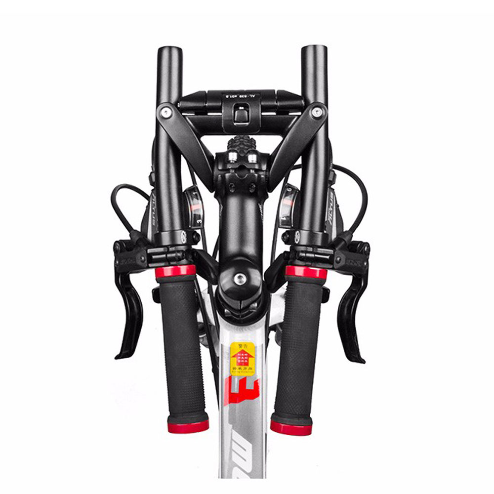 Cycling adjustable Fixe Fixed gear bike handlebar Foldable Handle bar 25 4mm quick release QR ergotec