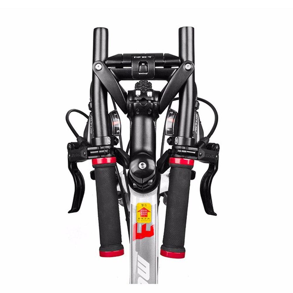 3K Full Carbon MTB Folding Bike Bicycle Handlebar 25.4//31.8mm Rise Bar 600-740mm