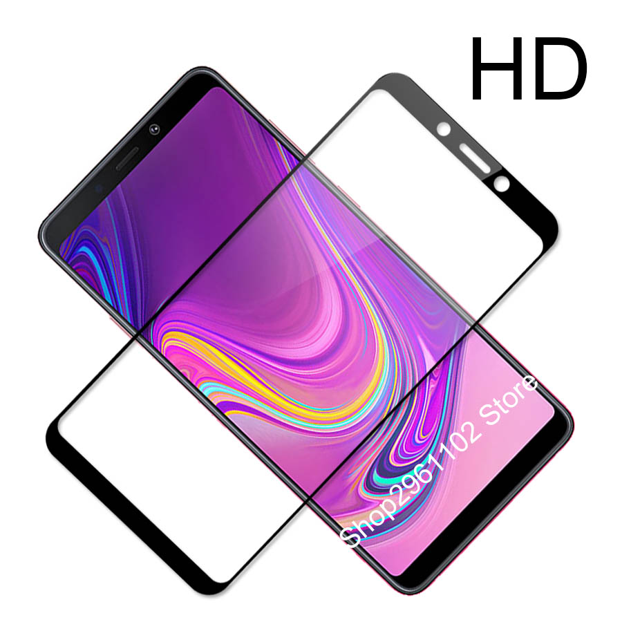 Image 5 - for samsung galaxy a 9 2018 case cover tempered glass for samsung a9 2018 protective glass on the galax a92018 a920 a920f film-in Phone Screen Protectors from Cellphones & Telecommunications