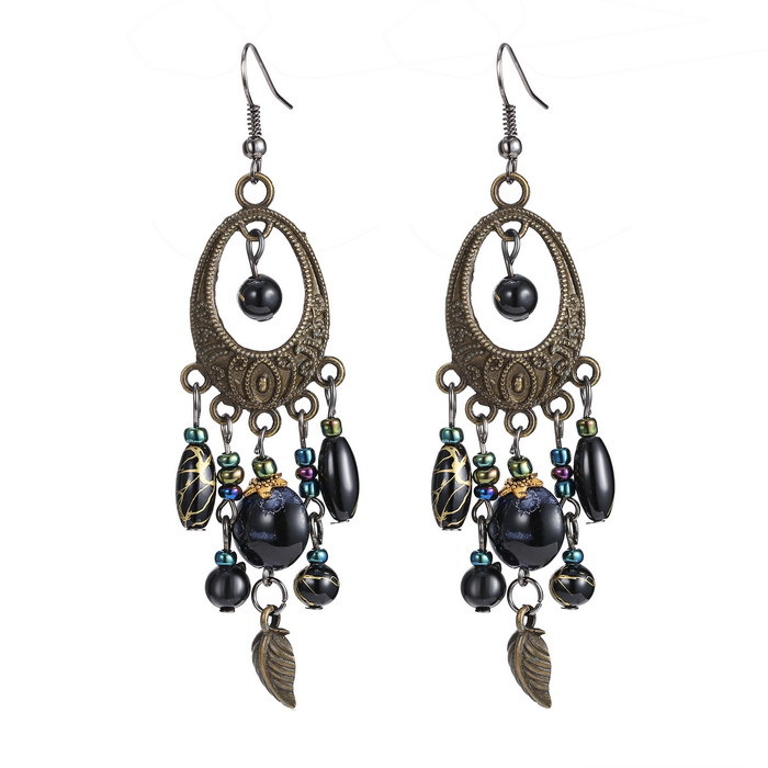 New design Ethnic style water drop shape Bohemian earrings ...