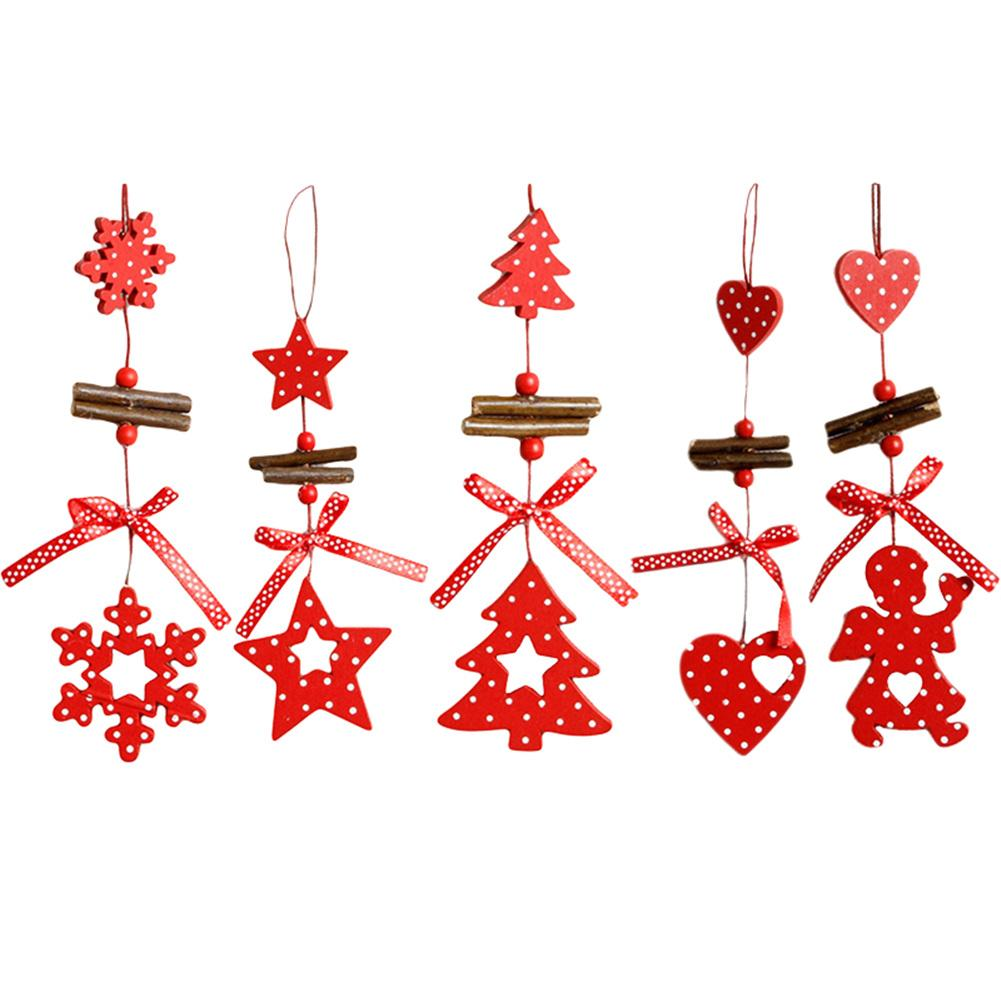Christmas Tree Festival Decoration Pendant Accessory Window Hanging Ornaments Inventory Clearance