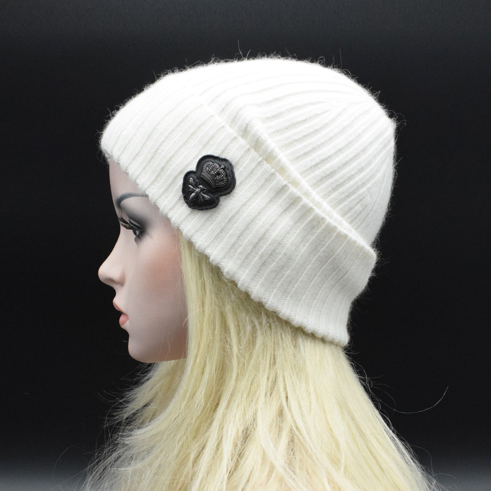 2017 New Solid Wool Winter Soft Warm Wool Hats For Women Knitted Vogue Brand Casual Warm Hat Female Skullies Beanies Gorros  цены