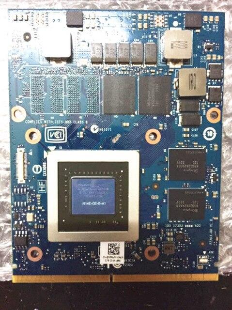 GTX765M N14E-GE-B-A1 GTX 765 M GTX765 M 2g Graphiques MXM Carte Vidéo Pour M17X R3 R4 R5 R6 M15X m18X R2