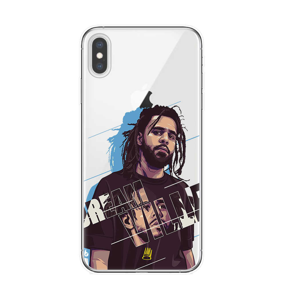 Rap J Cole Born Sinner Soft Silicone Cover Case for Apple iPhone 11 Pro XS Max X XR 8 7 6 6S Plus 5S SE TPU Phone Cases Coque