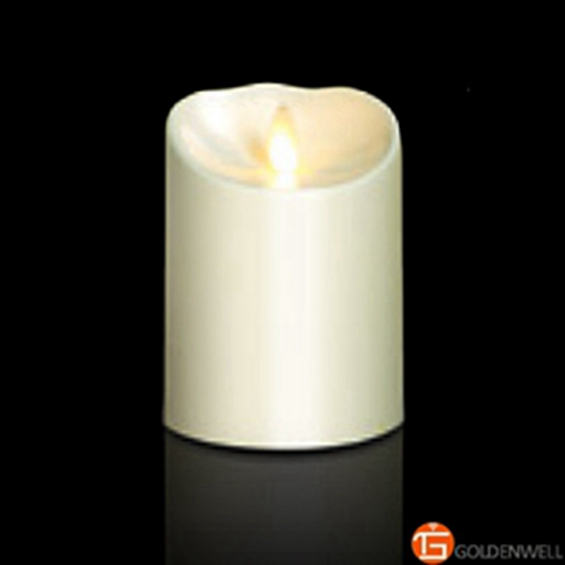 Online get cheap flameless pillar candles for Candele on line