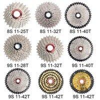 BOLANY горный велосипед свободного хода 8 s/9 s 11-25 28 32 40 42 т MTB горный велосипед маховика 8 9 Скорость блок звездочек для Shimano Sram